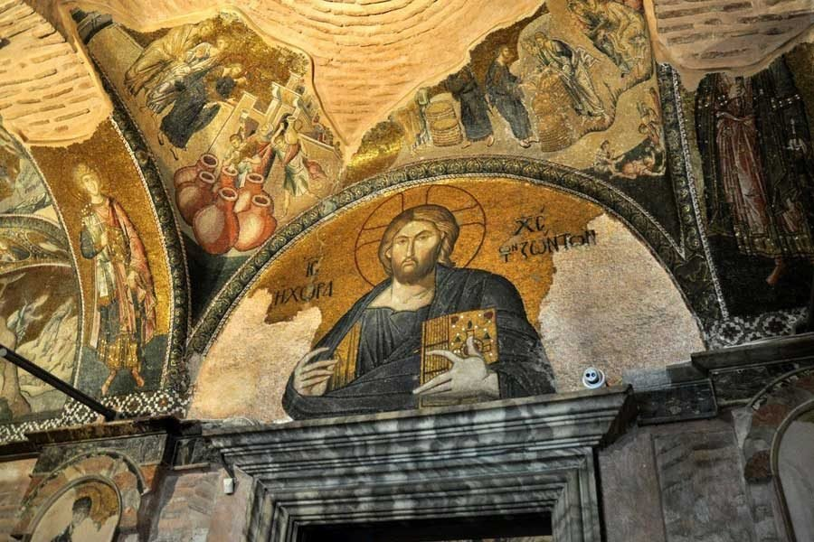 Istanbul Chora-Church-Jesus-Christ-Pantocrator