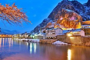 Amasya by night