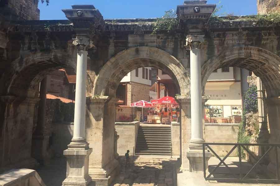 Antalya-Turkey-Hadrian gatejpg