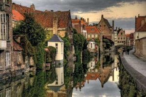 Brugge-Zeebrugge-Canal-Belgium