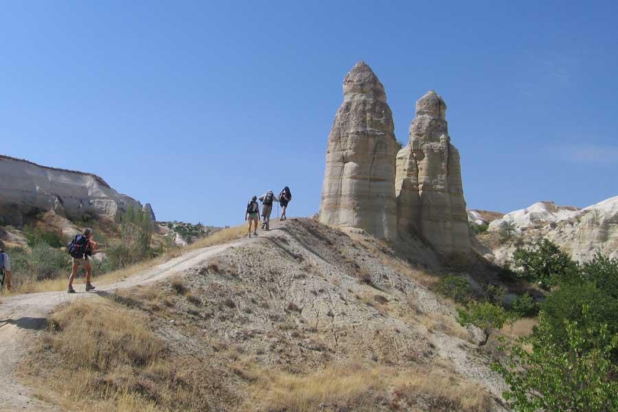 Cappadocia Cappadoce Trek Randos Fairy Chimneys