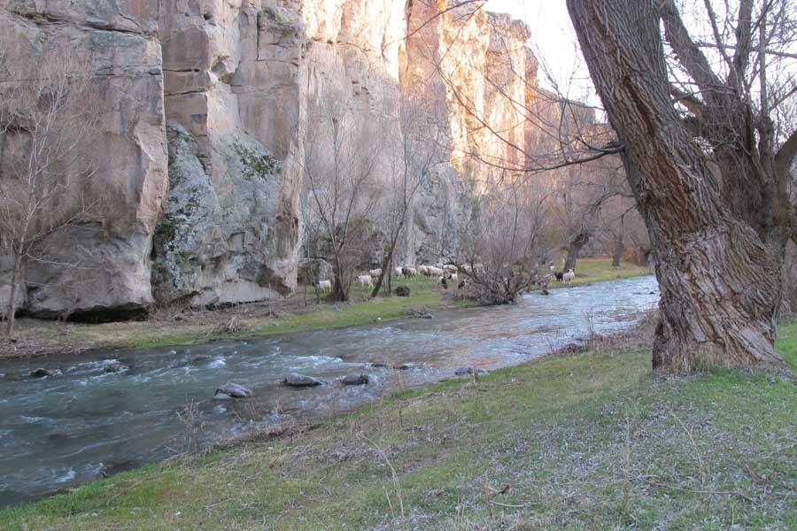 Cappadocia ihlara valley