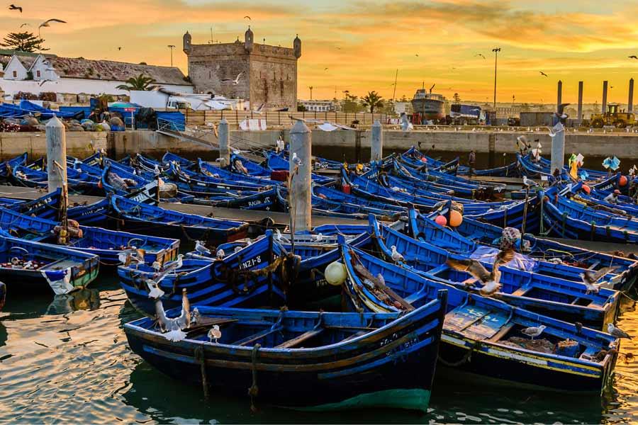 Essaouira-Morocco-port