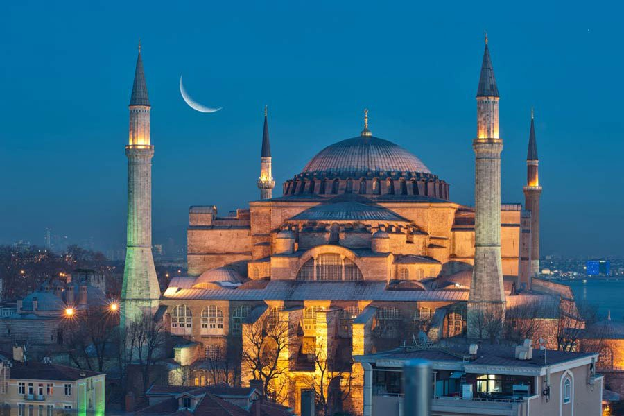 Istanbul Hagia-Sophia
