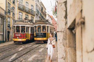 Lisbon-Portugal-trolley