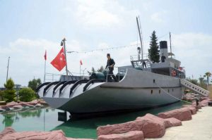 Nusret Mine Ship Model Museum Canakkale