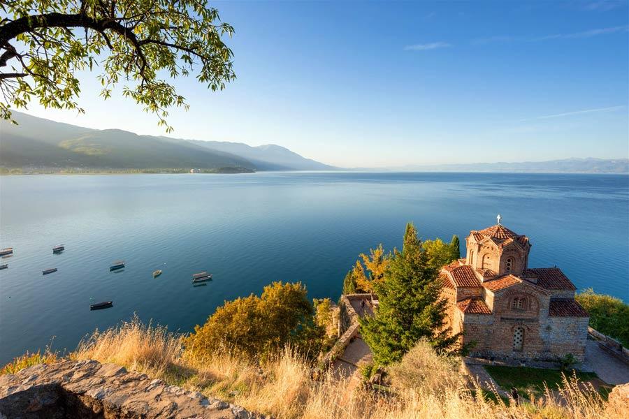 Ohrid-sea