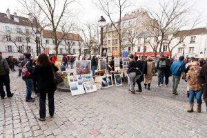 PARIS-FRANCE-Montmartre