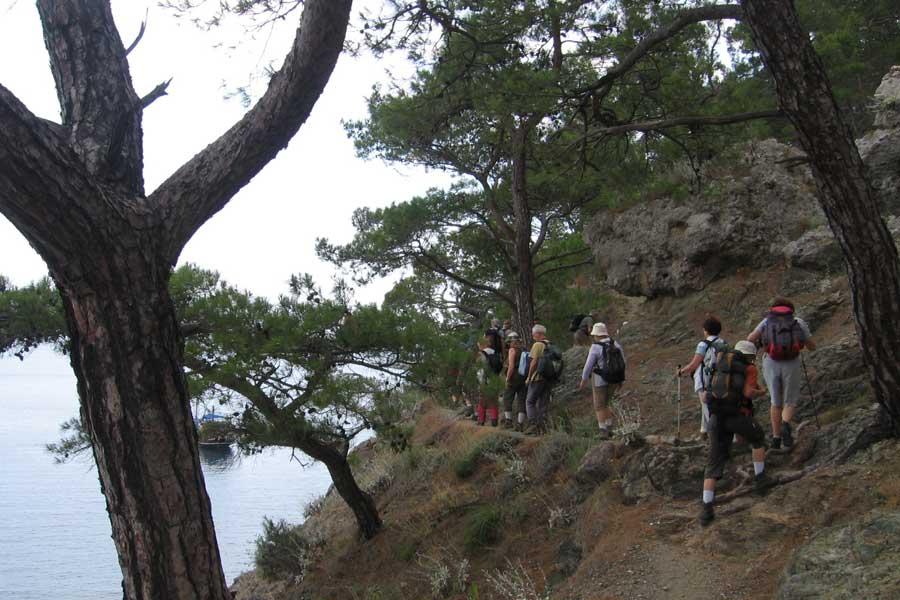 Rando en Lycie groupe marche
