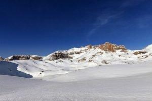 Ski adventure in the Taurus