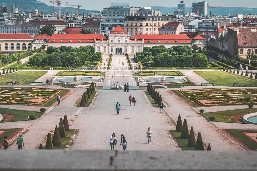 Vienna-gardens