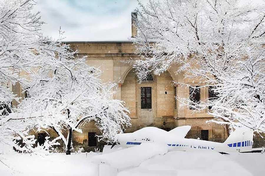 mustafapasa snow