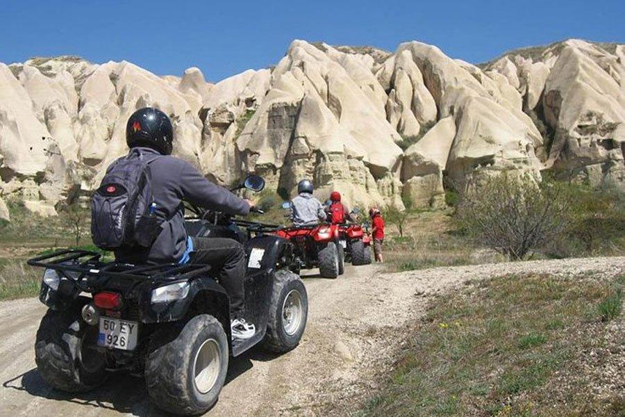 quad atv en cappadoce