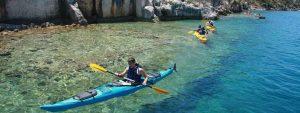 Kayak en Lycie
