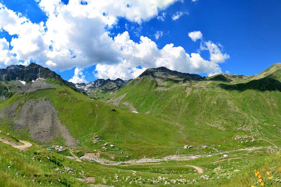 trekking in th kackar mountains